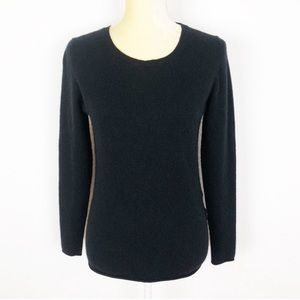 Old Navy Black 109% Cashmere Pullover Sweater
